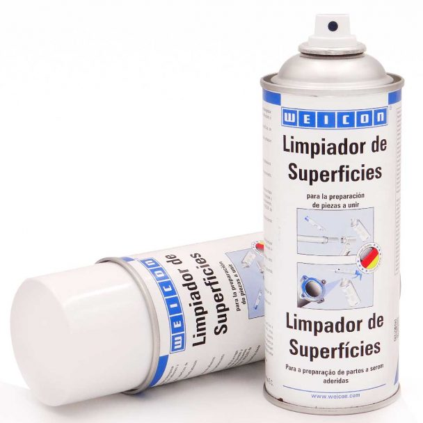 Spray limpiador de superficies weicon