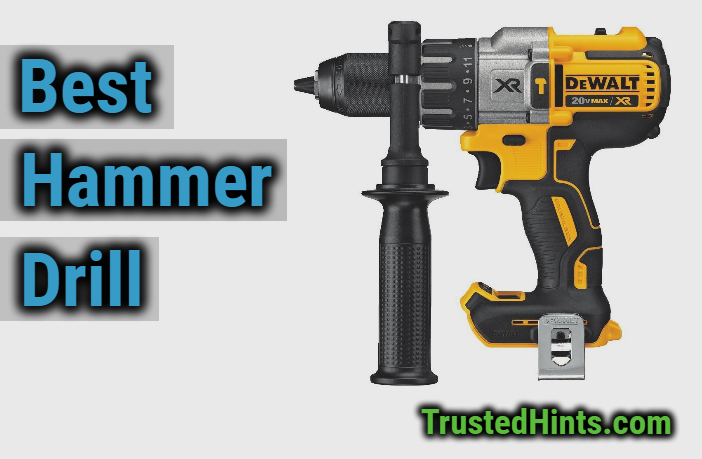 7 Best Hammer Drills Cordless Corded In 2020 Reviews