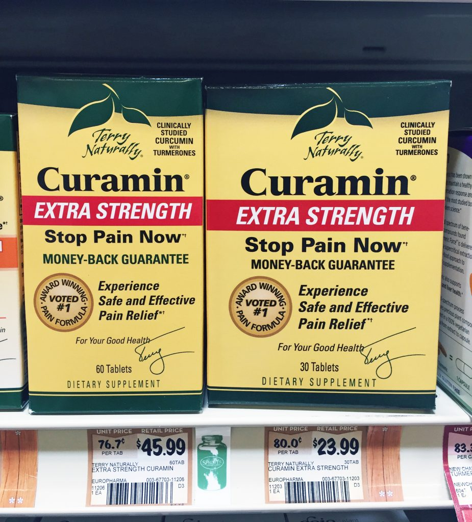 Curamin Supplement at Sprouts