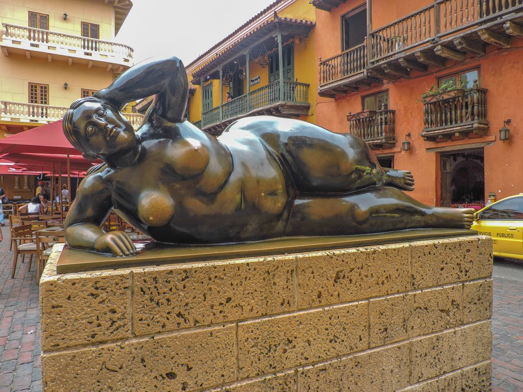 Things to do in Cartagena, The Fat Lady Fernando Botero