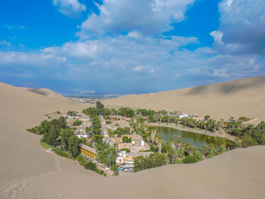 Huacachina I Three Weeks in Peru Itinerary