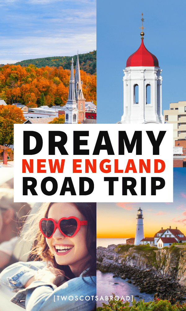 New England road trip, New England fall, Things to do in New England, New England summer, New England itinerary, New England route, New England weekend getaways, places to visit in New England, one week in New England, 4 days in New England, New England small towns, Boston, Maine