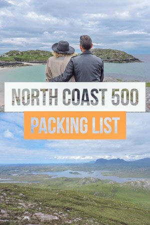 Scotland North Coast 500 Packing List | What to pack for NC500