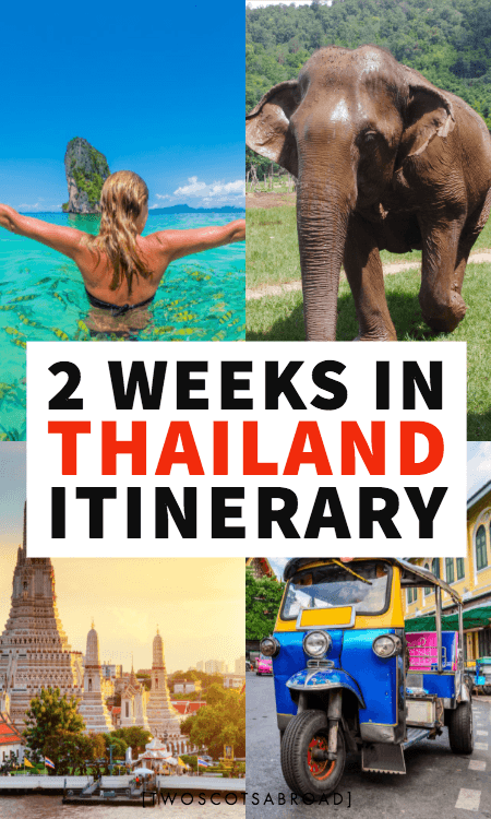 Thailand itinerary, Thailand guide, 1-2 weeks in Thailand itinerary, Thailand Vacation, Thailand things to do, How to spend 2 weeks in Thailand, the perfect 2 week Thailand itinerary, best things to do in Thailand in 2 weeks, Thailand destinations, Phuket, Chiang Mai, Bangkok, Krabi,Thailand first time, Thailand guide, Thailand travel tips, Thailand elephants, Phi Phi, how to plan your trip to Thailand, how to visit Thailand on a budget, cheap Thailand tips, Thailand beach, Thailand hotels, Thailand hikes