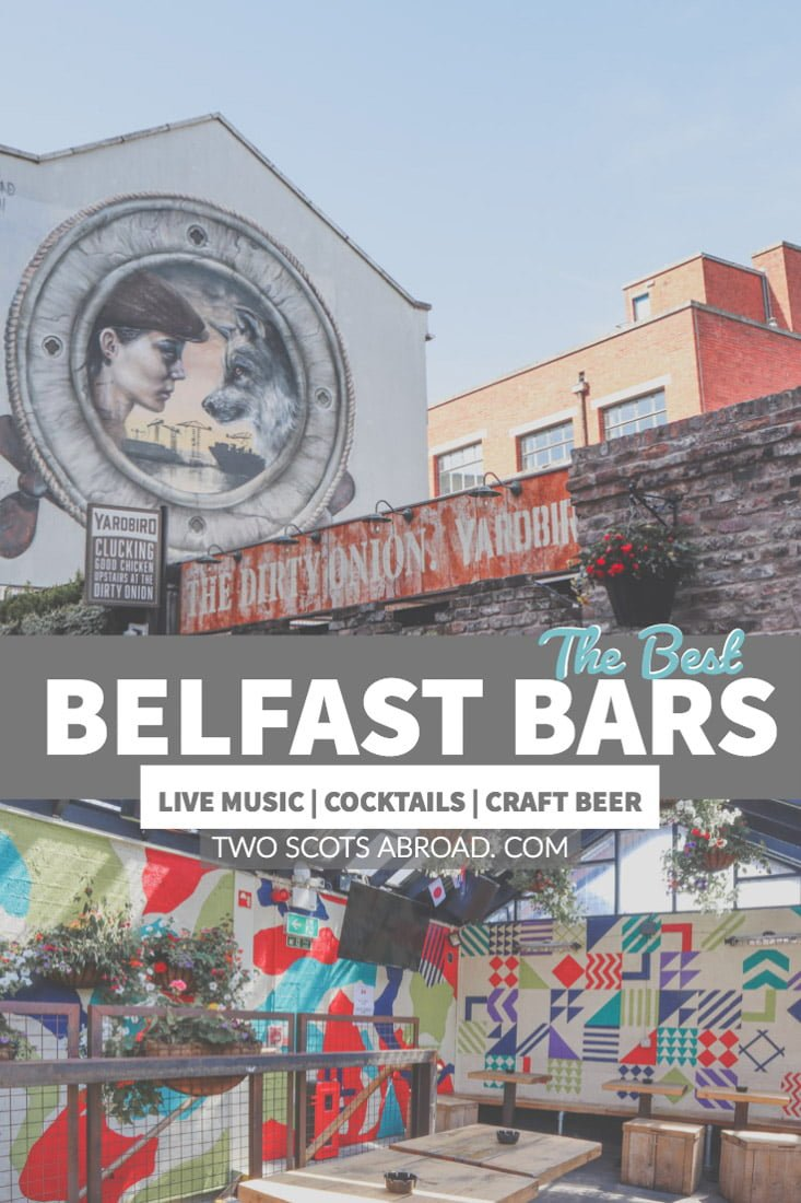 The best bars in Belfast Northern Ireland. Click this pin to find out about live tradition music, craft beer and the last caged bar in Belfast!