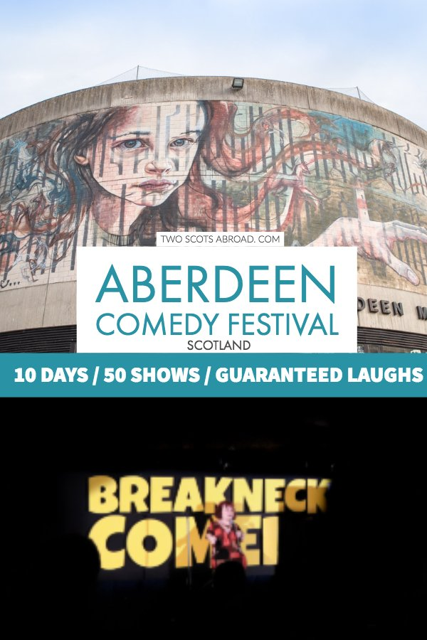 Aberdeen Comedy Festival - Festivals in Scotland - Things to do in Aberdeen