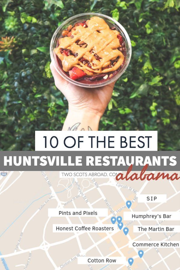 The best Huntsville Alabama restaurants - BBQ, craft beer and local produce