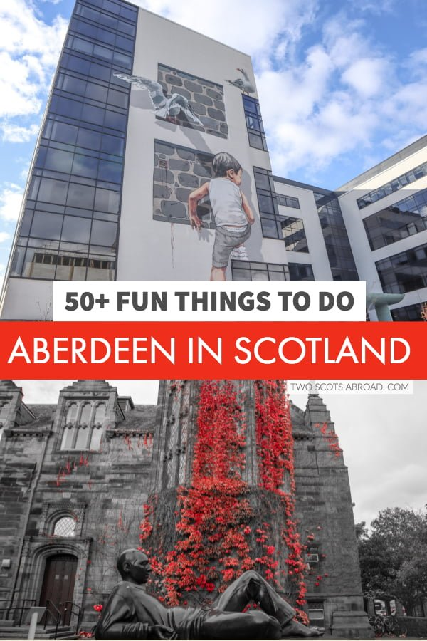 Street art, museums, and craft beer - check out these things to do in Aberdeen, Scotland.
