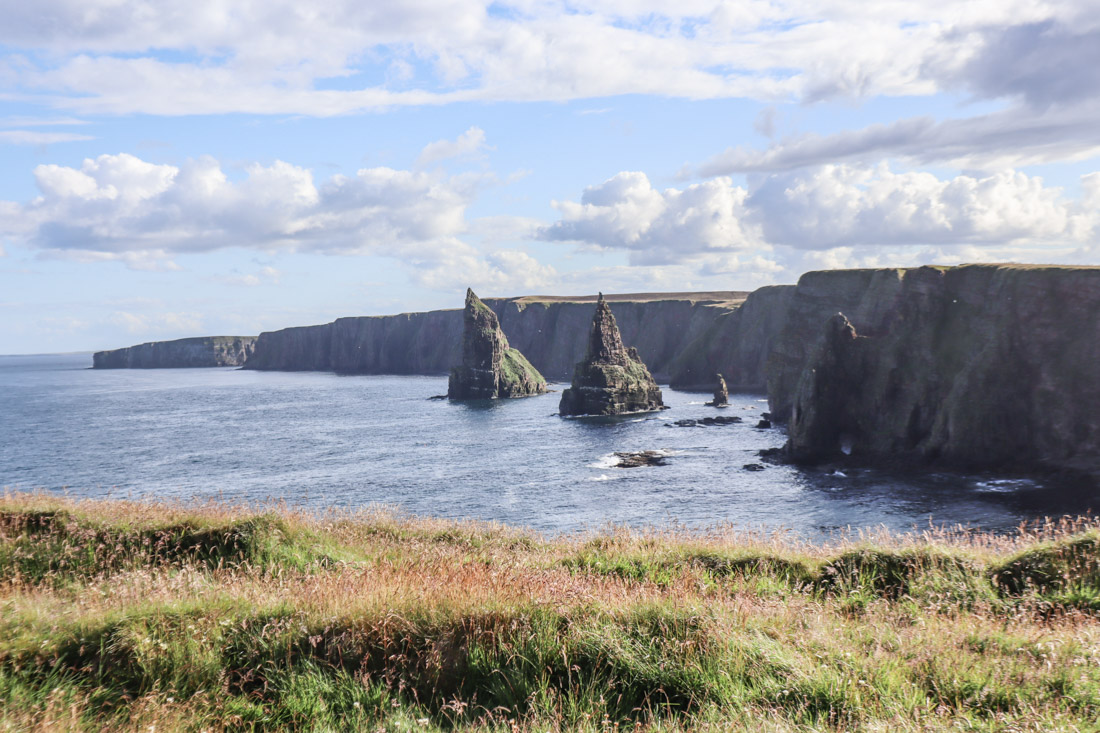 Duncansby Stack on North Coast 500 Scotland_