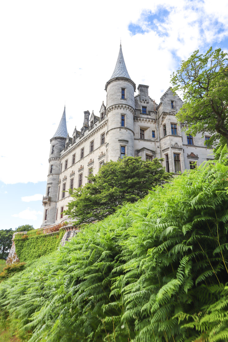 Dunrobin Castle North Coast 500 Scotland_