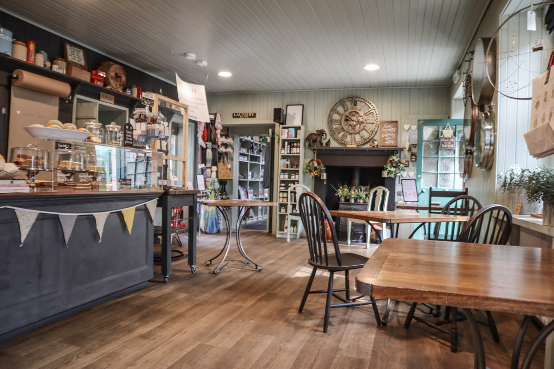 River Bothy Cafe in Berriedale North Coast 500 Scotland_
