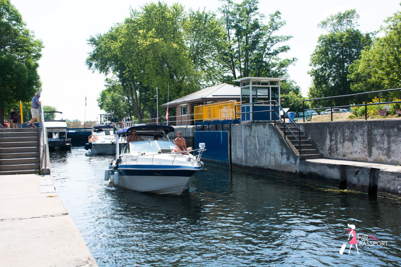 Bobcaygeon, water, boat