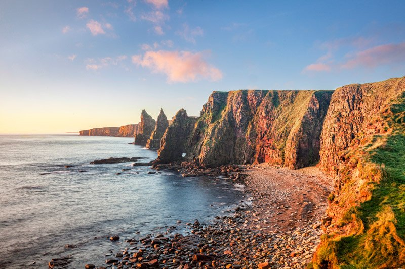 Duncansby Stacks NC500 Scotland
