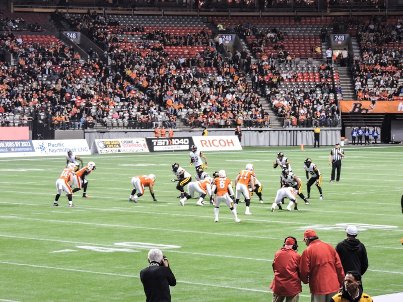 Sport Game BC Place Vancouver_