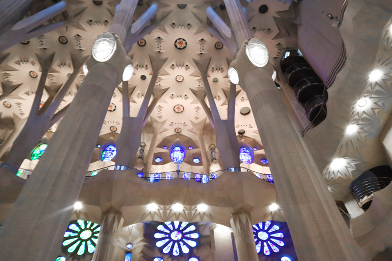 La Sagrada Familia Windows