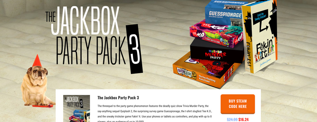 Jackbox Games to play on zoom-