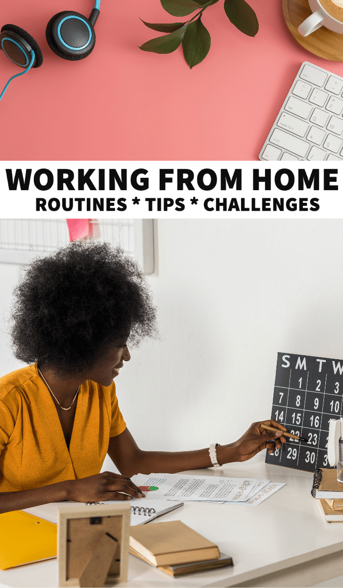 Working from home tips, working from home jobs, time management, how to work from home, working from home ideas, how to work from home and be productive, work from home schedule, routine, motivation, home office setup