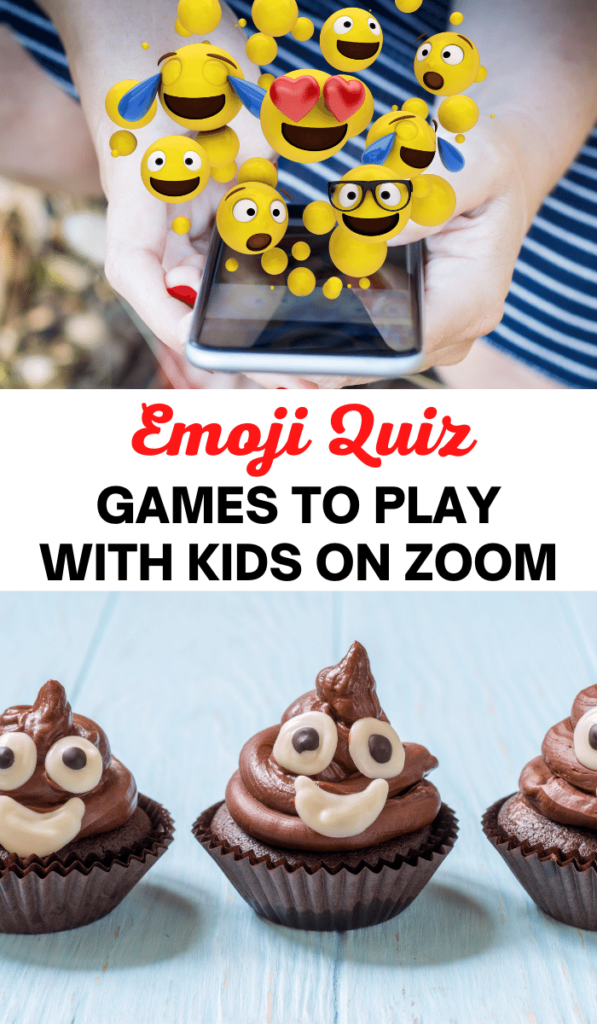 Emoji Quiz. Zoom games to play with kids and Zoom activities