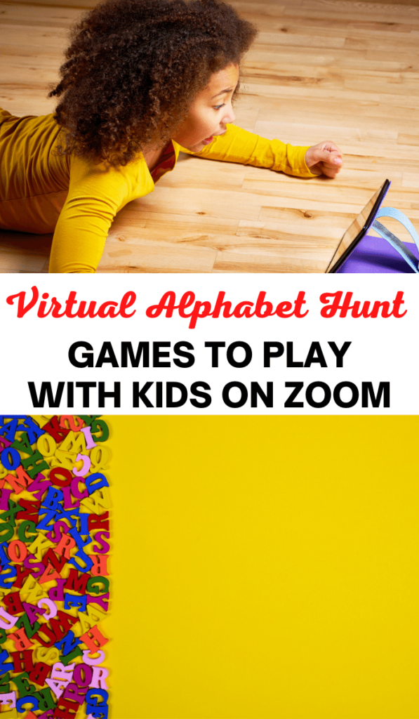 Scavenger Hunt. Zoom games to play with kids and Zoom activities