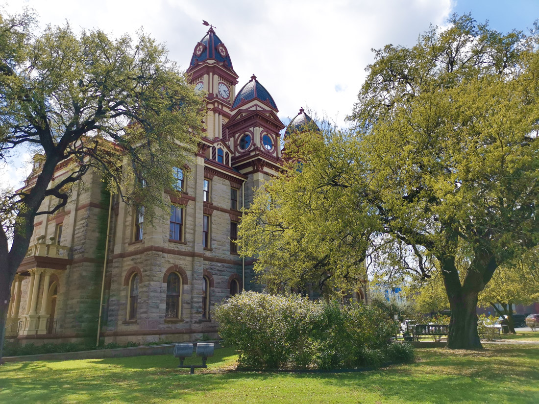 Caldwell County Courthouse Lockhart Texas