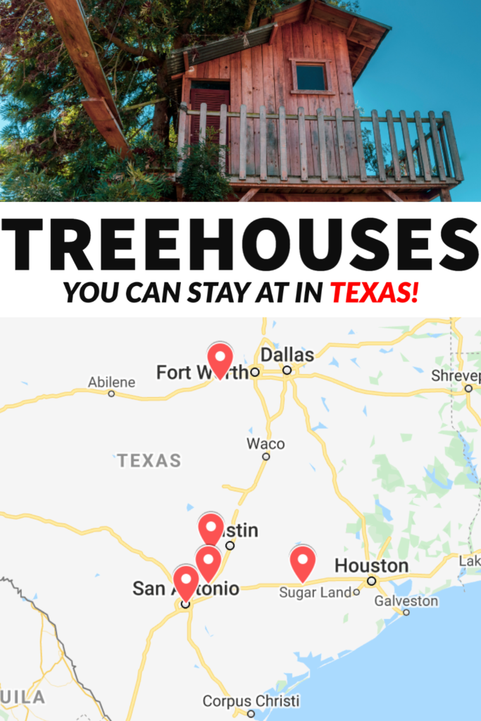 Looking for a cool accommodation in Texas? Well, you can stay in a treehouse! From remote and romantic to completely off grid, there's a treehouse nestled in nature for every type of traveler!