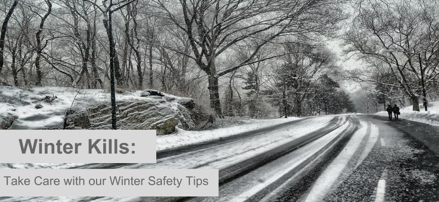 Take Care with our Winter Safety Tips