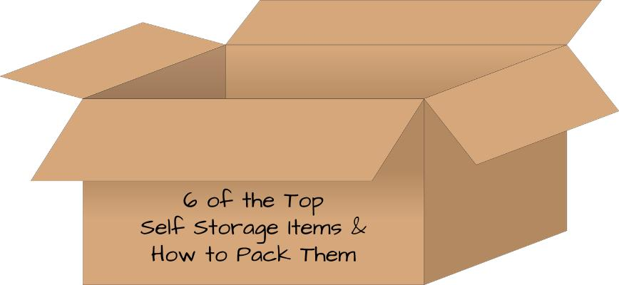 Top Self Storage Items