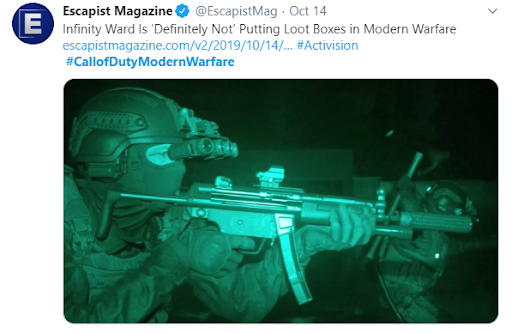 call of duty modern walfare what to expect