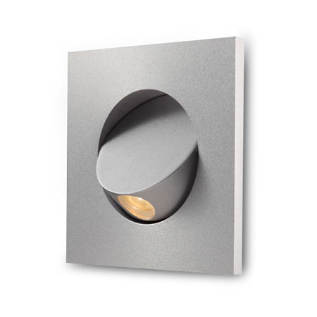 Elegante recessed LED reading light