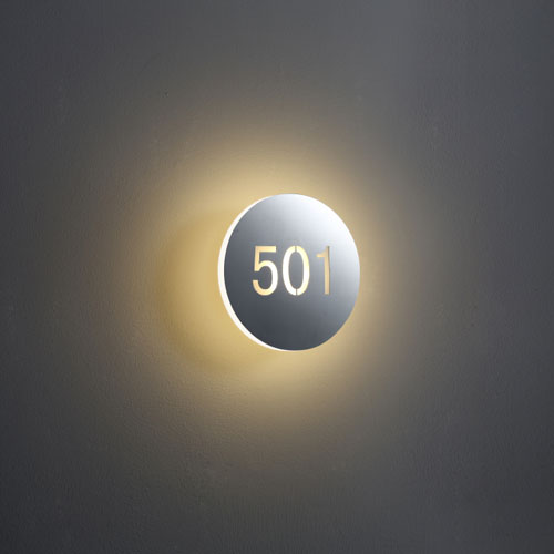 LWA228B LED hotel room numbers