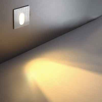 LSL001 recessed led wall light