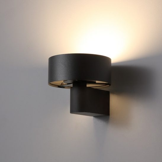 LWA297-BK 6 watt LED wall light