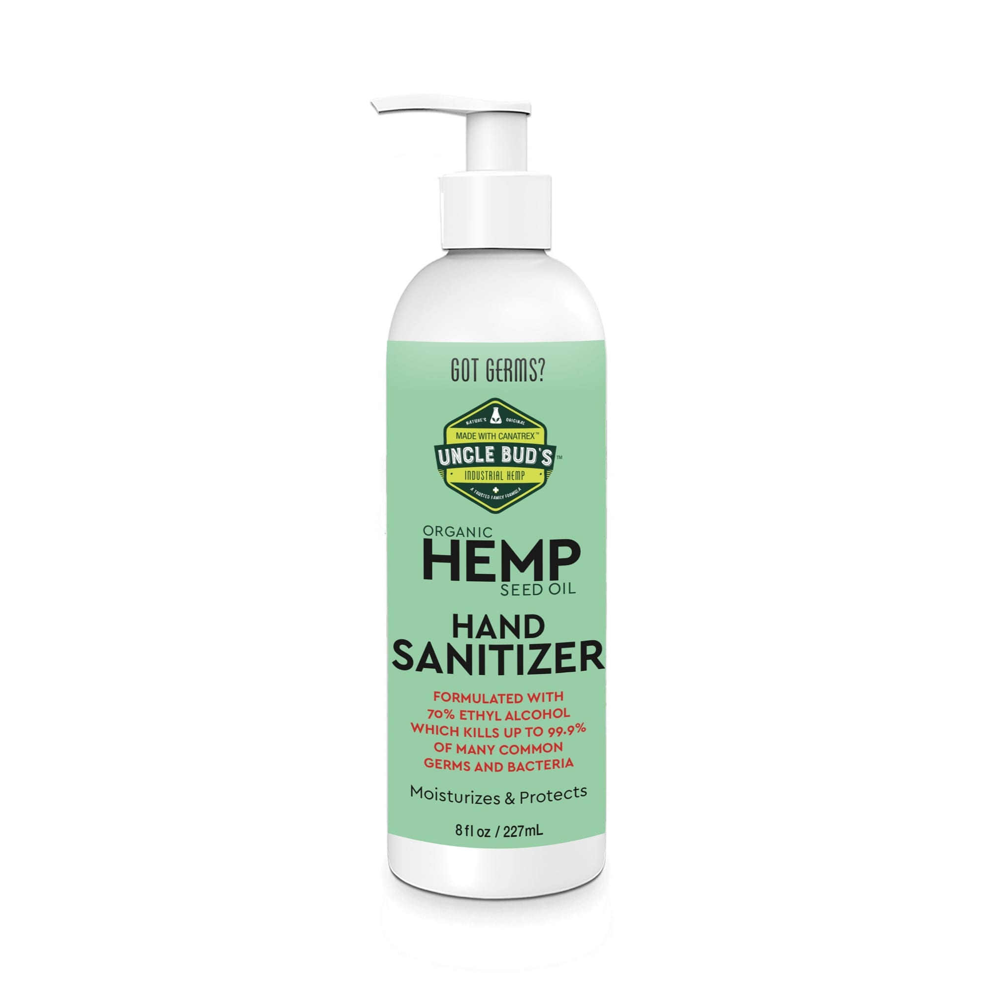 8 Oz Hand Sanitizer By Uncle Bud S Hemp Uncle Bud S Hemp