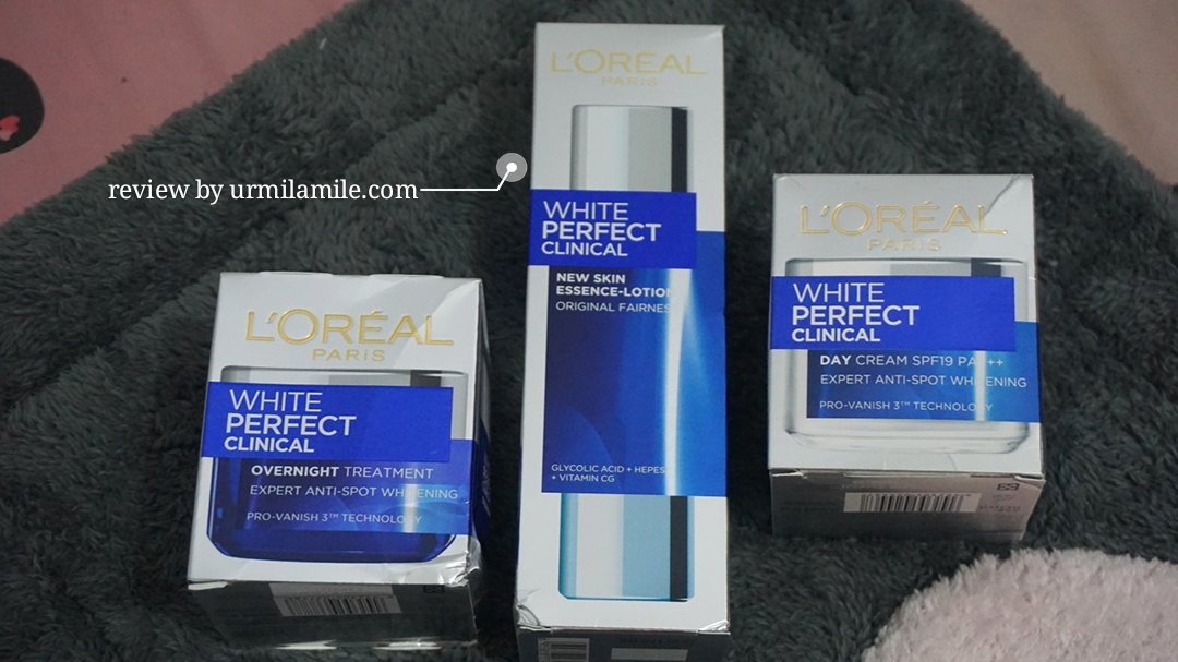 Box L'Oreal Paris White Perfect Clinical