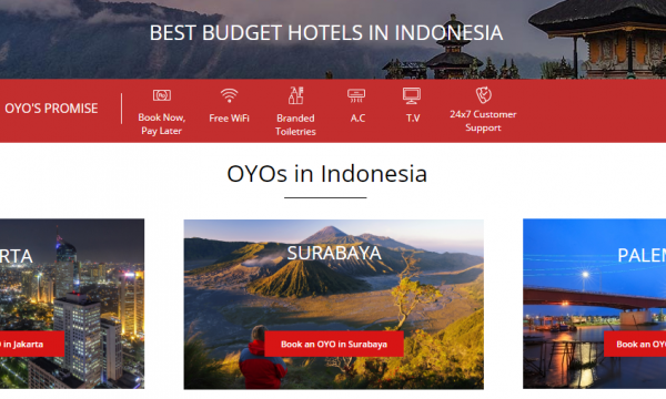 OYOROOMS - BEST BUDGET HOTELS IN INDONESIA