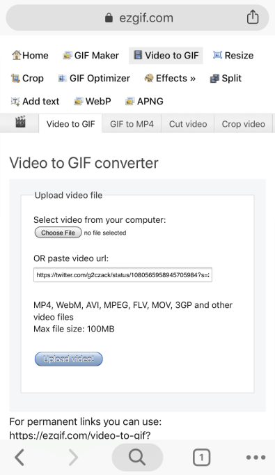 How to Save Animated GIFs from Twitter? 11
