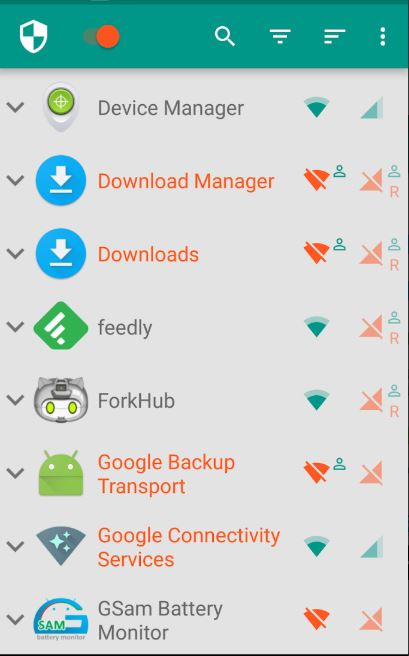 Best Firewall Apps for the Android 3