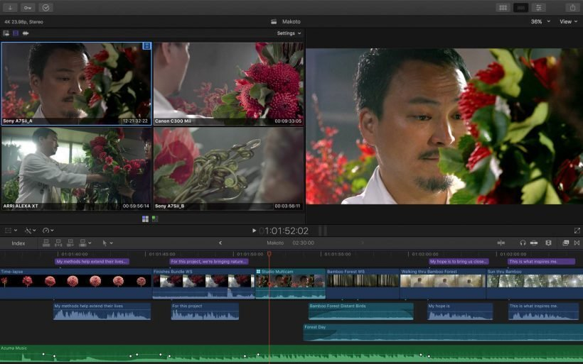 Final Cut Pro X 10.3.2 for Mac