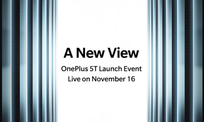 OnePlus 5T Launch Event