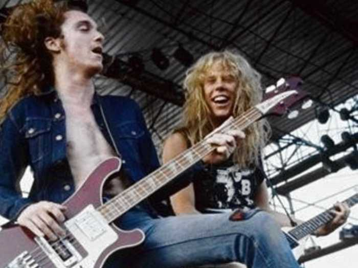 Rob Trujillo Cliff Burton