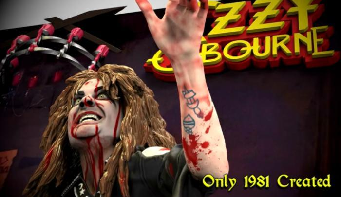 Ozzy 3D Statues