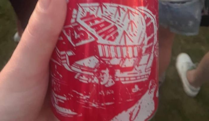 Bud Beer Can Slayer Anthrax