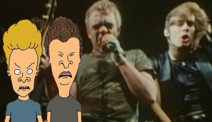 Beavis & Butthead Hated Balls To The Wall