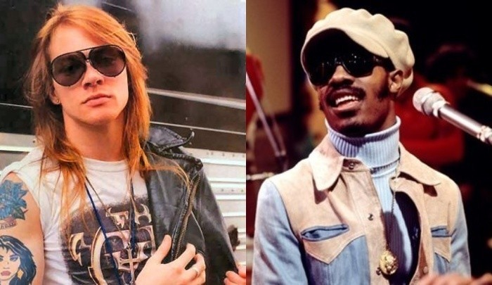 Guns N Roses Stevie Wonder