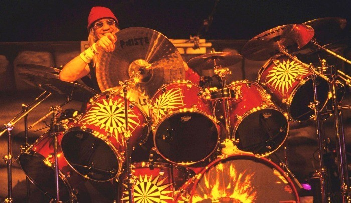 Nicko McBrain Drum Kit