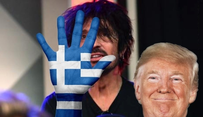 Greece Tommy Lee Donald Trump