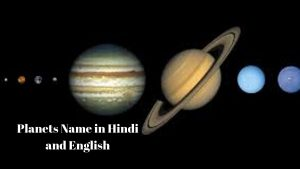 Planets name in hind and english