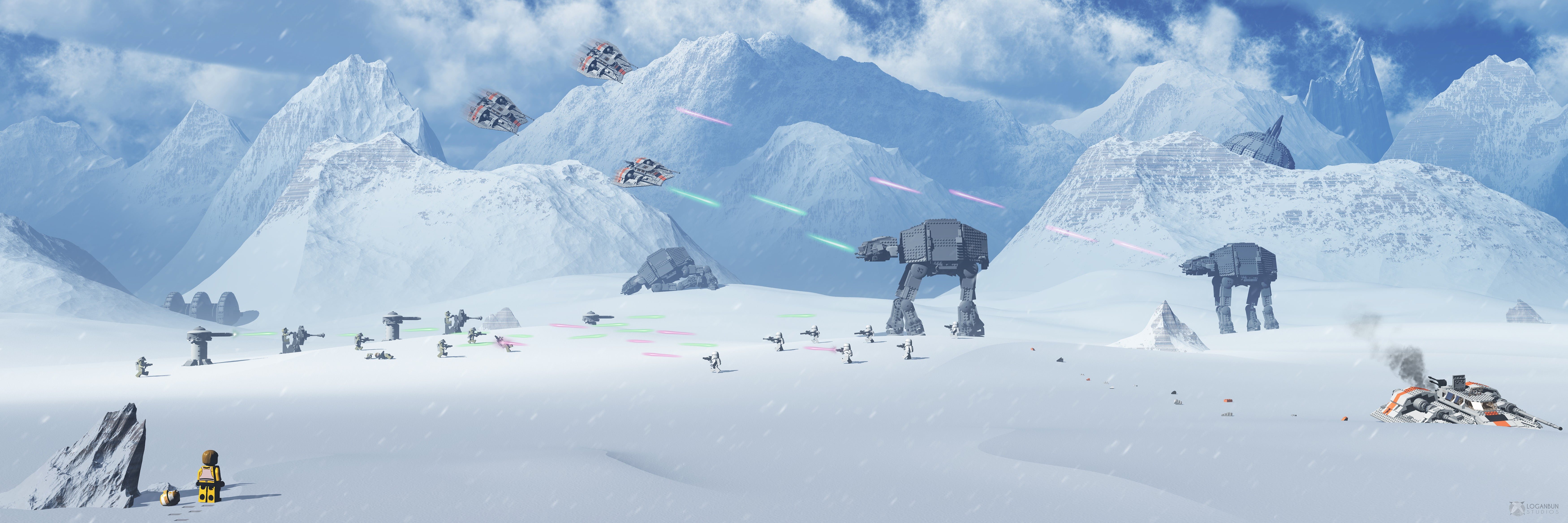 1080p Star Wars Hoth Wallpaper