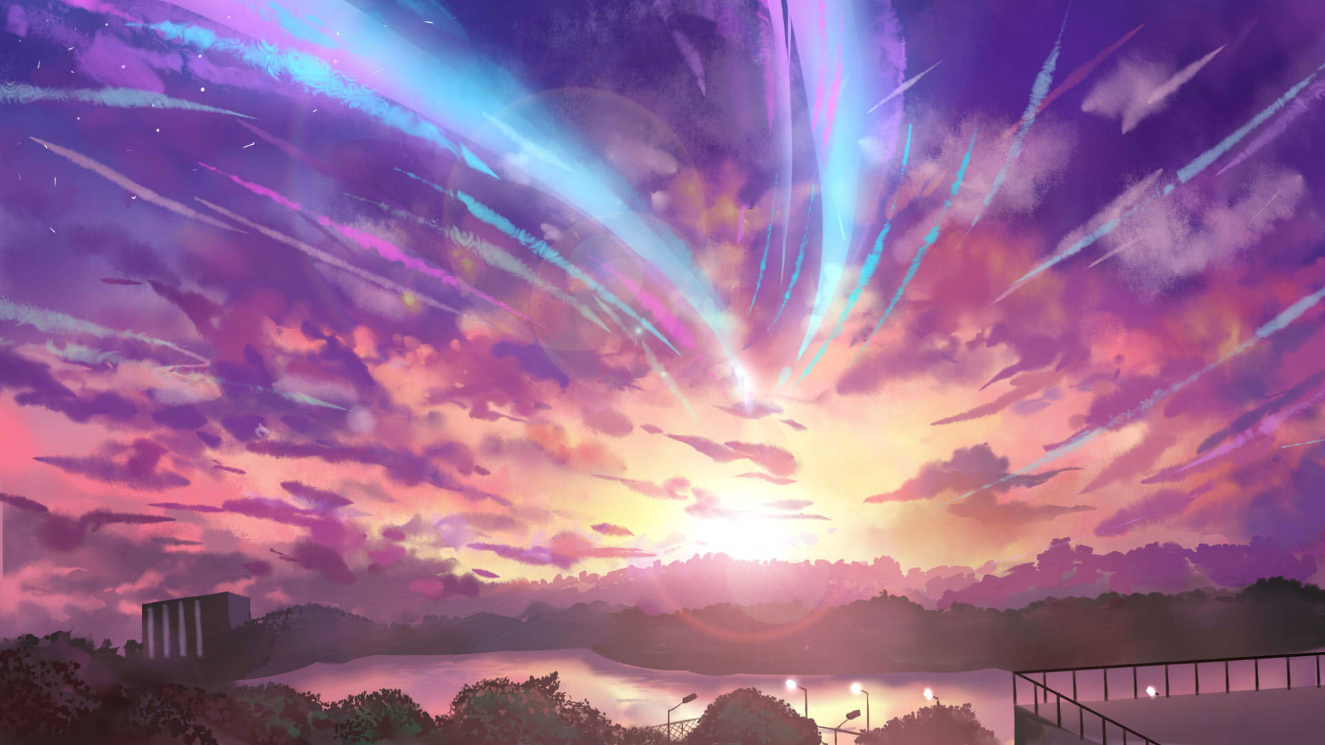 Wallpaper 1920x1080 Your Name