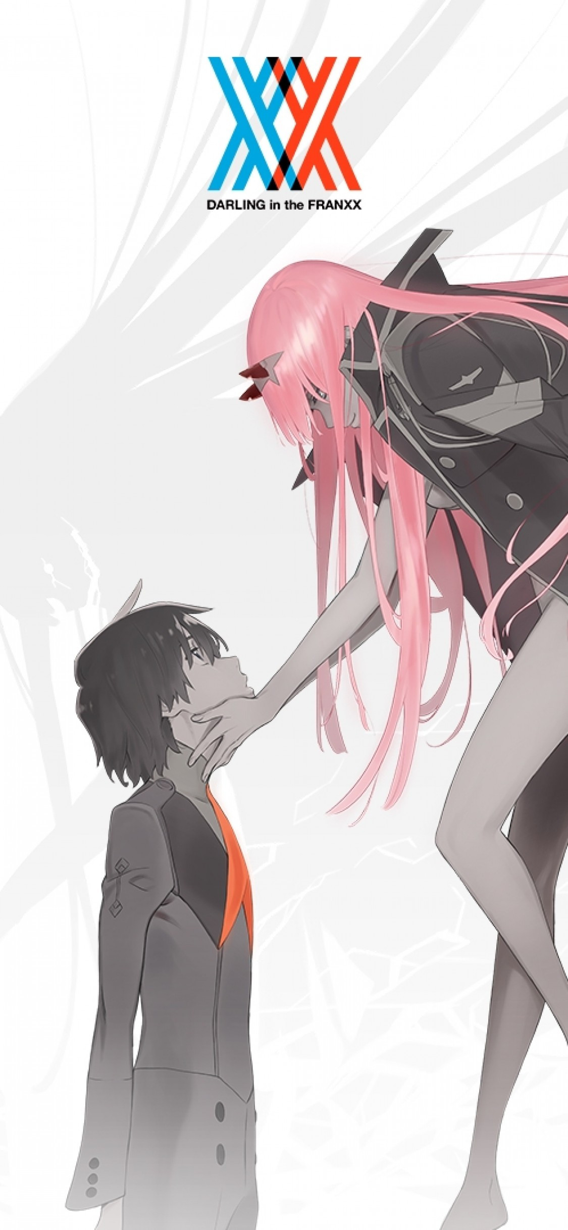 Hiro And Zero Two Wallpaper Phone